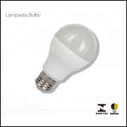 lampada led bulbo 9,5 w embalagem com 10